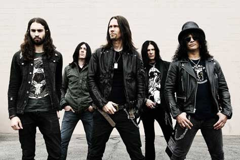 Slash y su banda 2012