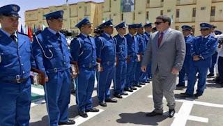 Le général-major Hamel inspecte le Groupement des opérations spéciales de la police à Oran