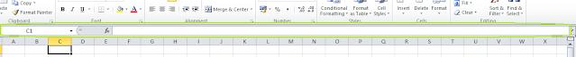 Pengertian Formula Bar Pada Excel