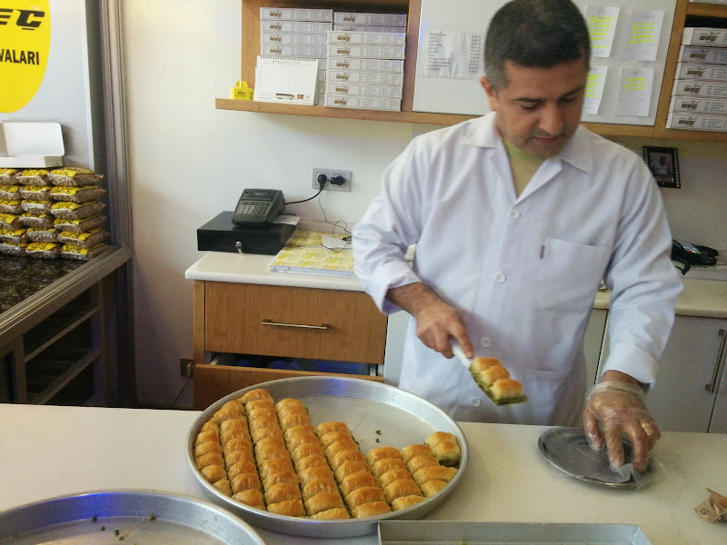 The delicious Gaziantep Baklavas