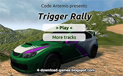لعبة رالى سباق السيارات Trigger Rally