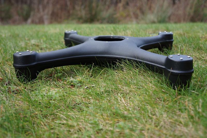 Aquacopter frame