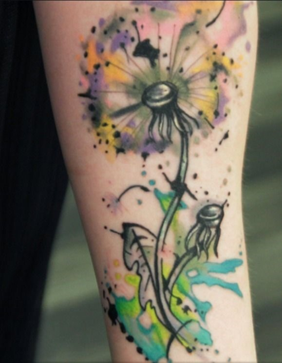 fantasia_dente-de-leo_antebraço_tatuagem