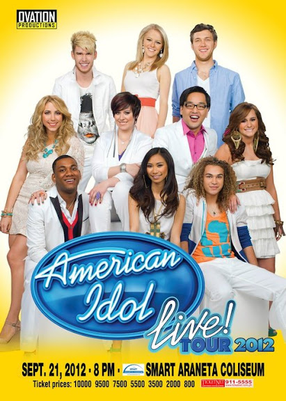 Ticket Prices, Details American Idol Live Tour 2012