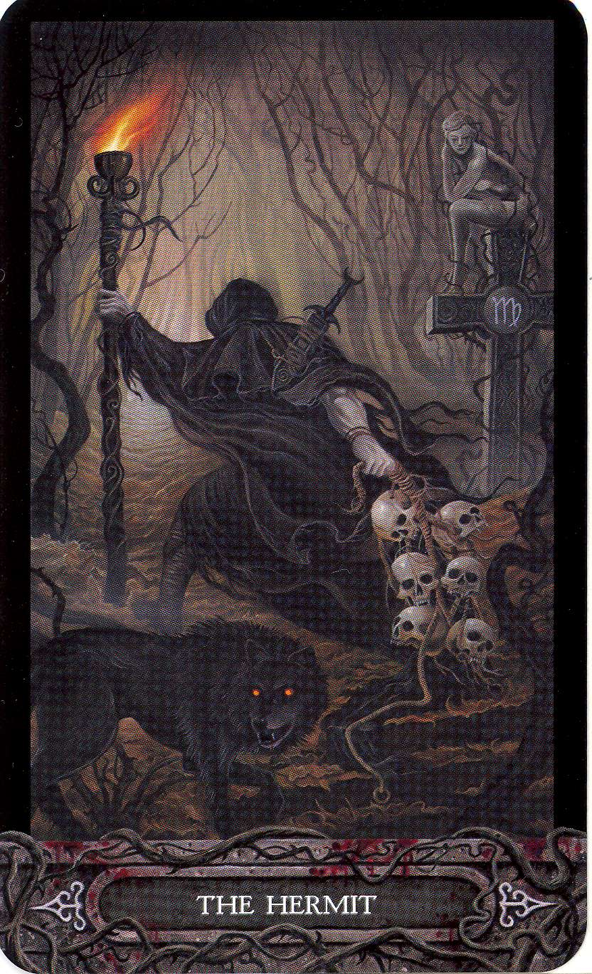 The Hermit Tarot Card Meaning In Readings Isolation: Inner Whispers: Daily Draw Gratitudes The Hermit
