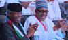 PRESIDENT MUHAMMADU BUHARI AND VICE PRESIDENT YEMI OSINBAJO HAVE RECEIVED THEIR FIRST DOSES OF THE ASTRAZENECA COVID-19 VACCINE.