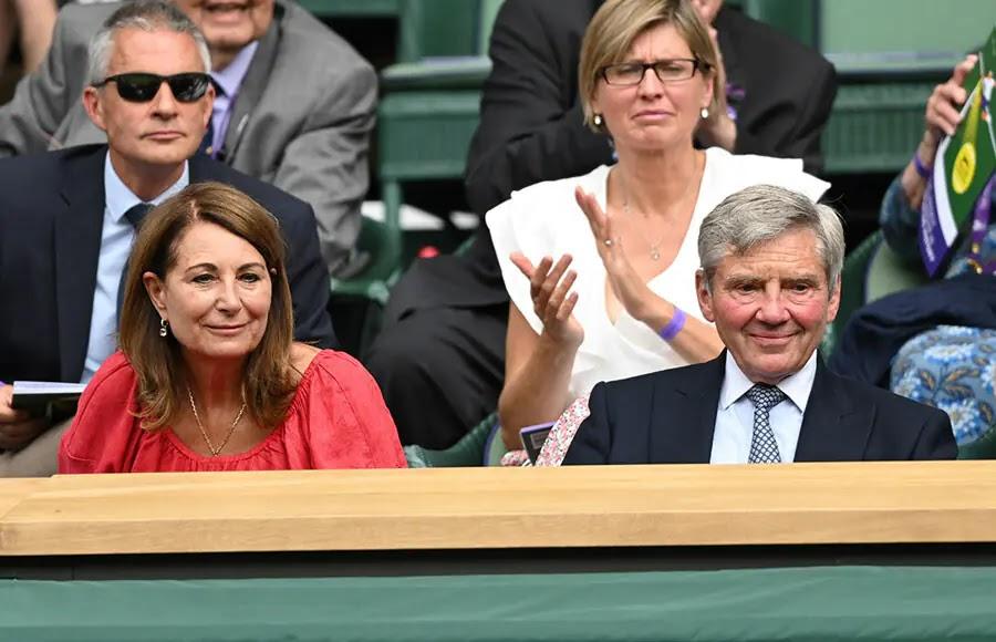 Carole and Michael Middleton Join David Beckham and More at Wimbledon