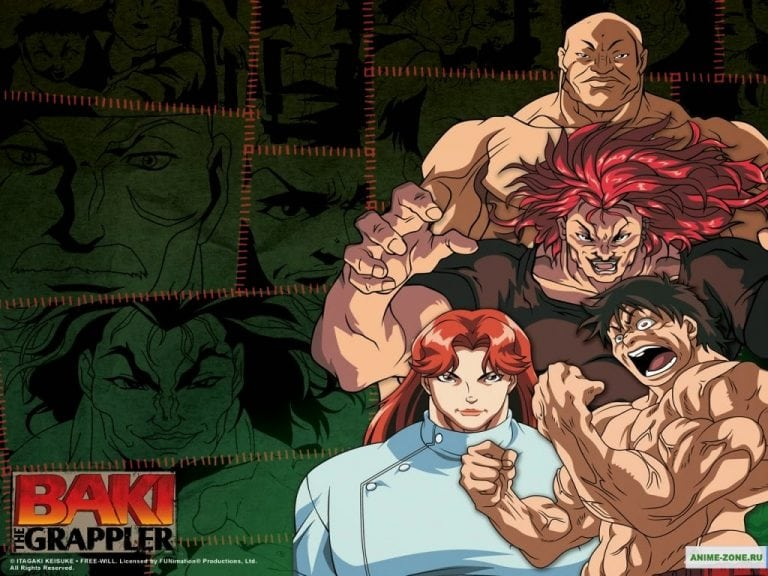 Baki Grappler Maximum Tournament [24/24 + Ova] [SUB ESP] [Mega 1 LINK ]