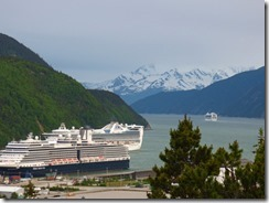 Skagway from Viewpoint on Dyea Road