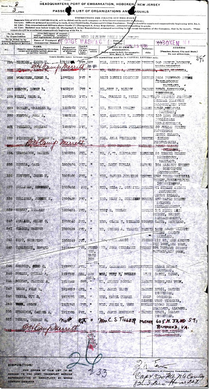 BOSKAT_Jackson A_military transport list_1918