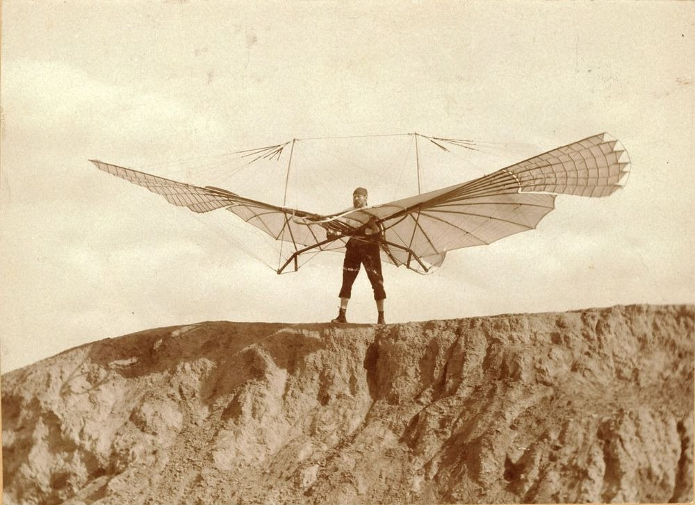 Think, that otto lilienthal first gliders sorry, that