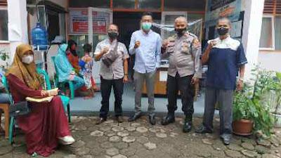 Kelurahan Parit Rantang Gelar Senam Sehat dan Gebyar Vaksin Sapu Jagat