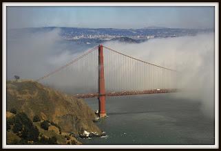 Photo: Golden Gate Bridge from Marin Headlands