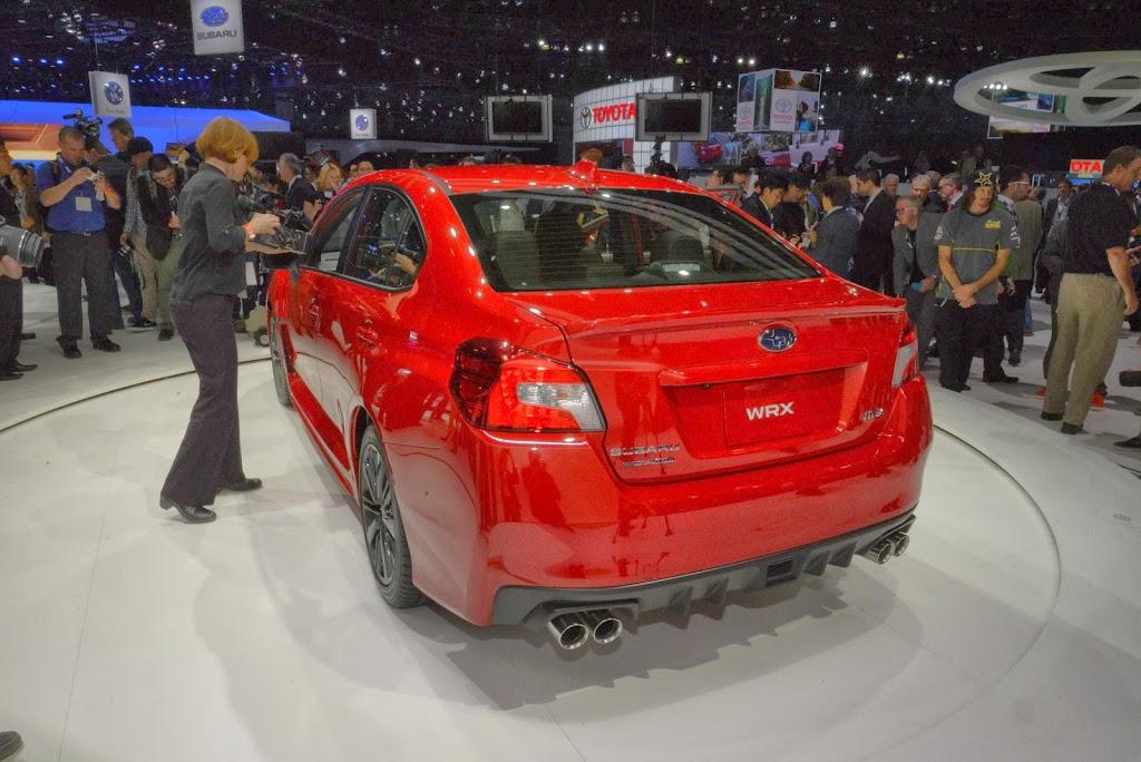 2015 Subaru WRX Los Angeles Auto Show 5