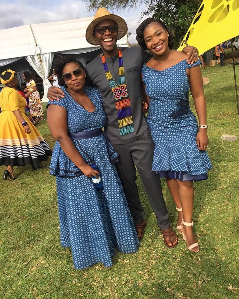 Stylish shweshwe design ….. 2018