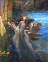 Greek Nereid Aktaie Image