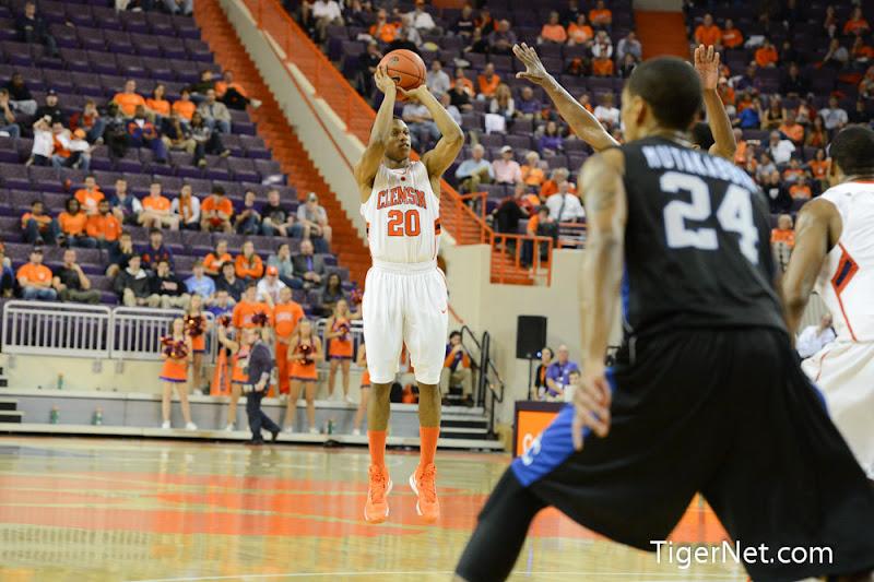 Clemson vs. Presbyterian College Photos - 2012, Basketball, Jordan Roper, Presbyterian