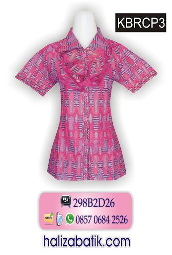 baju modern, baju batik wanita, model baju batik terbaru