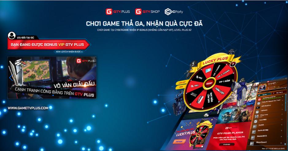 GTVxGCP: Cơ hội nhận nhiều phần quà giá trị cho game thủ và chủ phòng máy