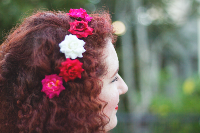 Natural curls and vintage style | Lavender & Twill
