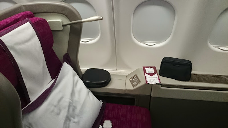DSC 5024 - REVIEW - Qatar: First Class - Doha to London (A330)