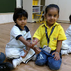 Friendship Band Making Activity (Nursery) 3-8-2015