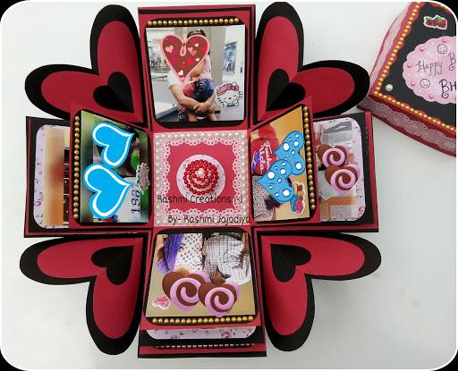 Rashmi Creations: Explosion Box Card