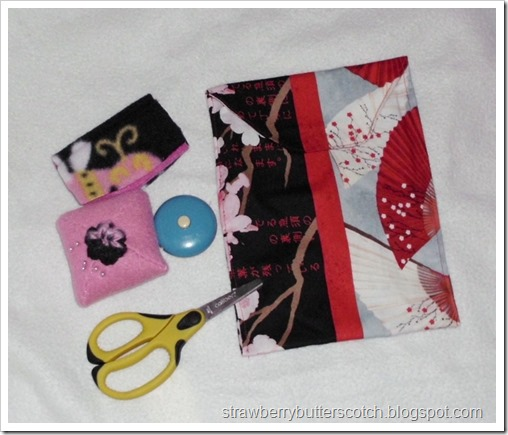Handmade Simple Sewing Kit
