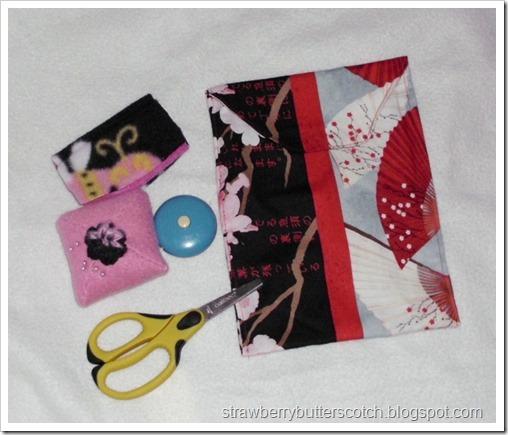 Handmade Simple Sewing Kit