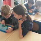 Werken met tablets in het 2de leerjaar: building sets