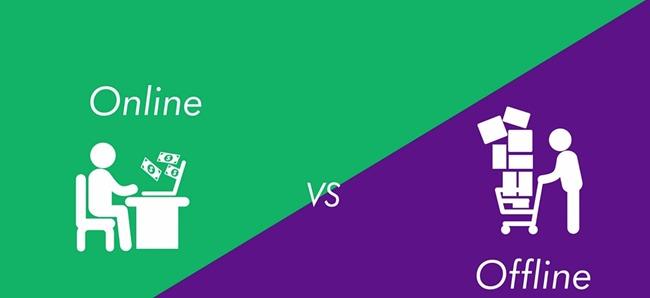 Bisnis Online vs bisnis Offline