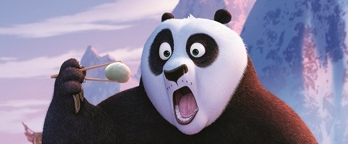 Jack Black reprises voice role as Po in KUNG FU PANDA 3