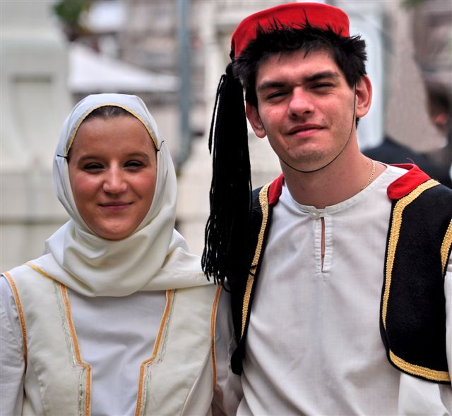 Görög táncosok