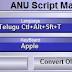 How to convert ANU 6.0. telugu file in to ANU 7.0