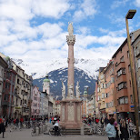marie-theresa-strass shopping street in Innsbruck, Tirol, Austria