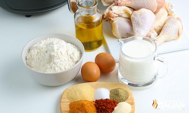 Air Fried Chicken Ingredients