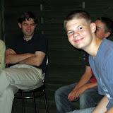 Spotkania były fajne... (z prawej- Marcin) Ale dla niektórych za długie (z lewej - Adam).