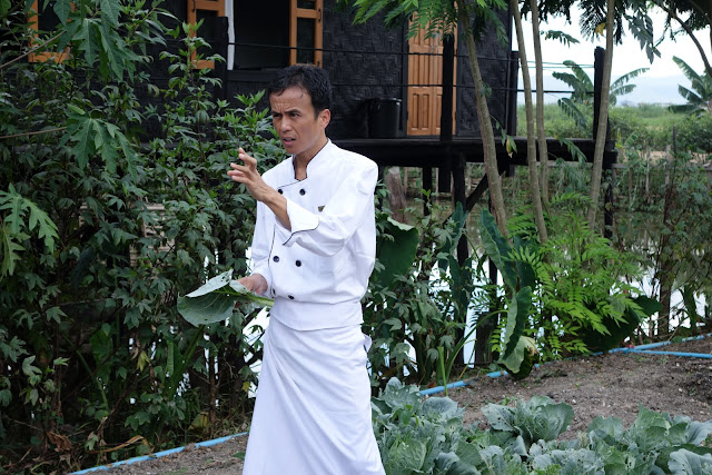 The head chef at Inle Heritage House. From Romping on the Fertile Waters: The Bounties of Inle Lake, Myanmar