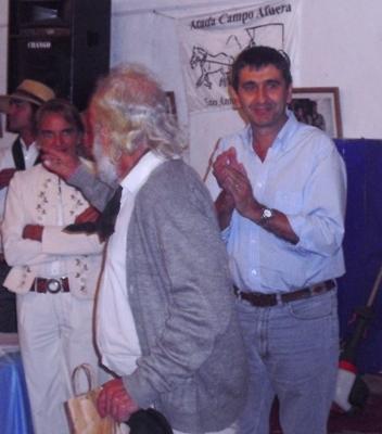 POLITICA: EL SENADOR ANTEDOMENICO ACOMPAÑANDO ACTIVIDADES SOLIDARIAS