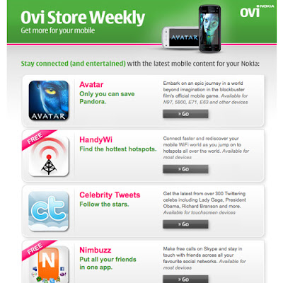 ... aplikasi-aplikasi keren dan menarik untuk HP nokia kesayanganmu