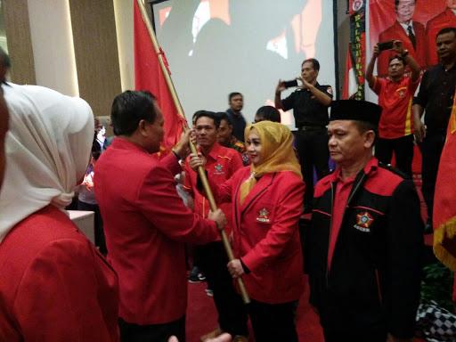 Sri Rahayu Agustina Dilantik jadi Ketua SOKSI Karawang