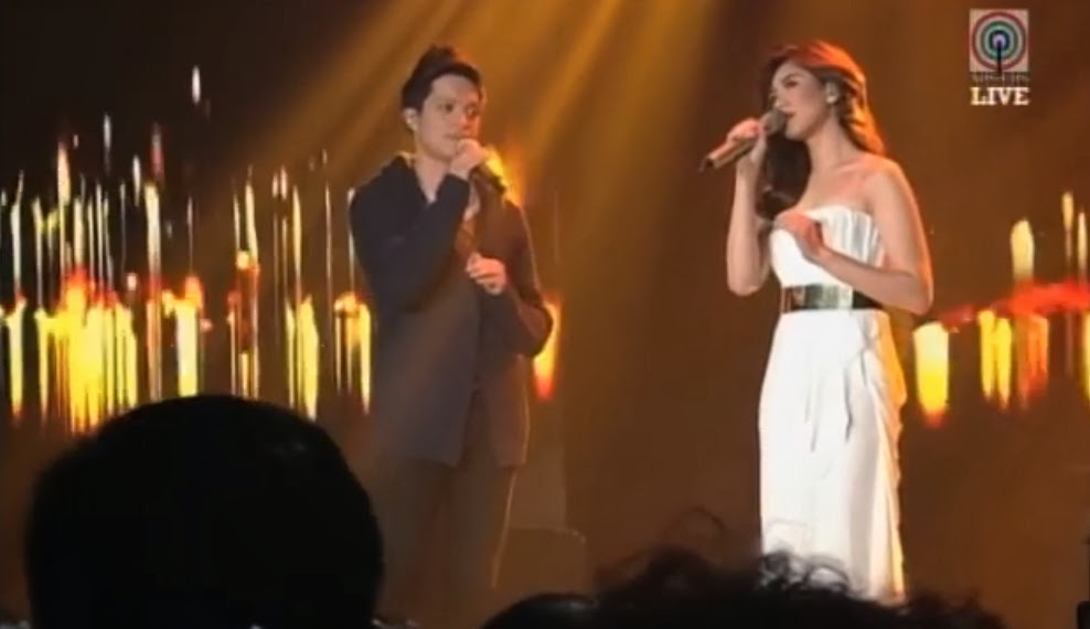 Sarah and Bamboo Say Something Live Duet Video