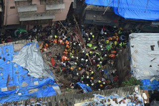 Two Buildings Collapse in Malad