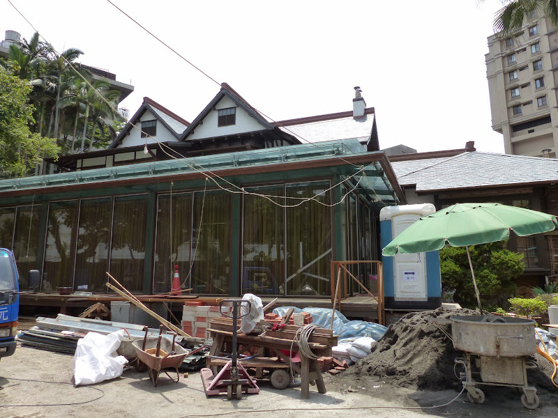 Vieille maison Japonaise transformee en restaurant