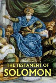 Cover of Solomonic Grimoires's Book The Testament Of Solomon