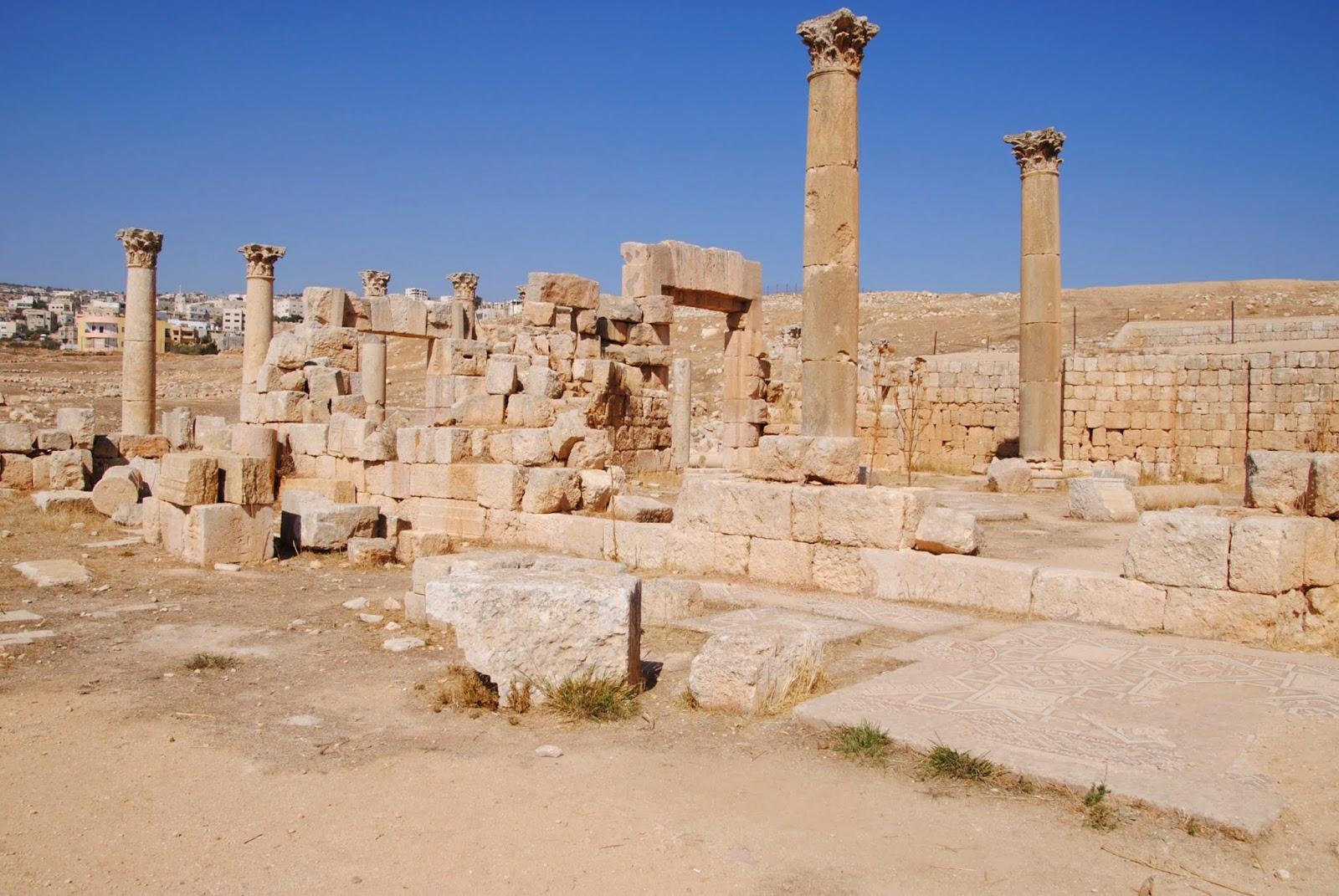 My Photos: Jordan -- Mosaics -- Jerash