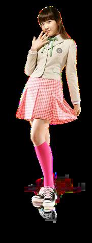 制服CFの少女時代テヨンの透過画像