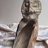 Civetta pulcinella gress 2 20x8x15cm Disponibile
