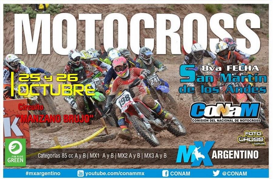 Campeonato Argentino de Motocross (El Podio Sur).