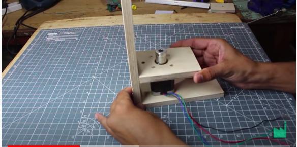 create the hand sanitizer dispenser base